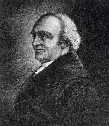 William Herschel, German-British astronomer, c 1790s.
