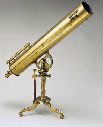 Gregorian reflecting telescope, c 1760.
