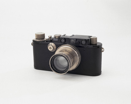 'Leica III' camera, made by Leitz, 1933-1939.