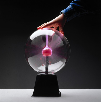 Large plasma ball, c 1990s.