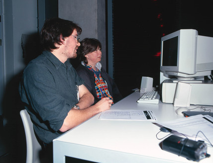 'Live Science' arena, 'Who Am I?' Gallery, Science Museum, London, 2001.