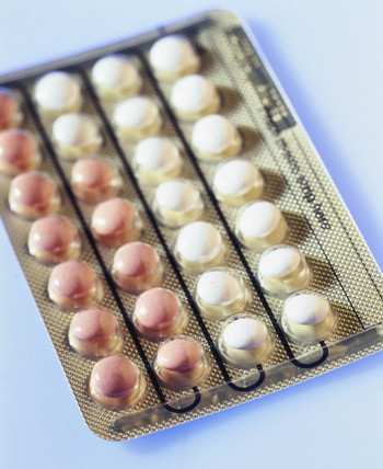Female contraceptive pills, 2000.