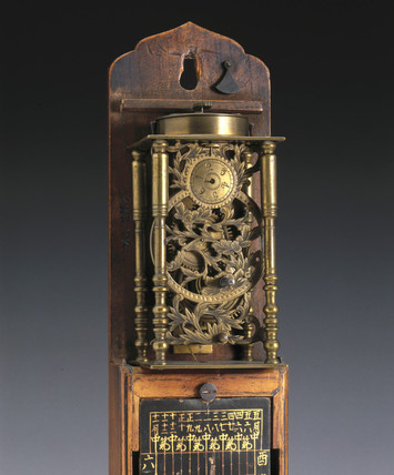 Pillar clock, Japanese, 1800-1870.