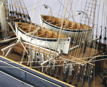Tea Clipper Cutty Sark 1869 At Science And Society