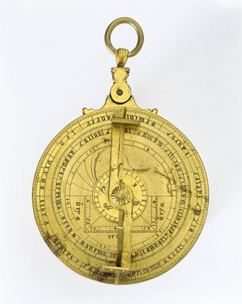 Hispano-Moorish planispheric astrolabe, c 1430.