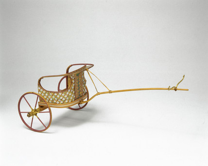 Early Egyptian chariot, c 1500 BC.