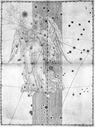 The constellation Virgo, 1603.