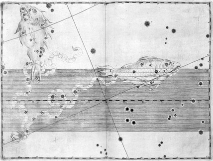 The constellation Pisces, 1603.
