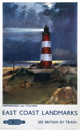 'East Coast Landmarks - Happisburgh near