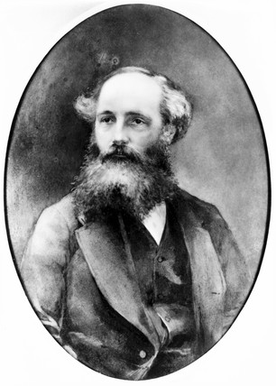 James Clerk Maxwell, Scottish physicist, c 1870.