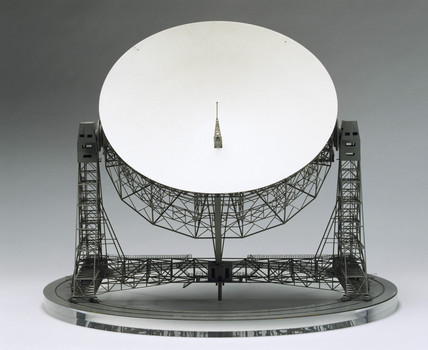 Jodrell Bank Radio Telescope, c 1957.