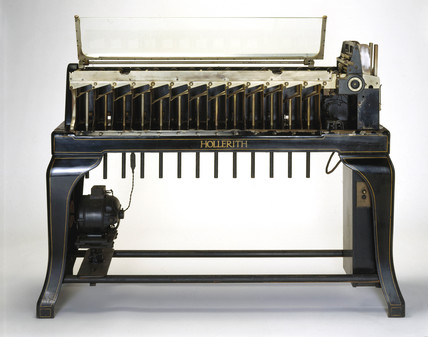 Hollerith 45 column horizontal electrical sorting machine, c 1925.
