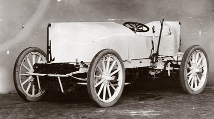 C S Rolls' record-breaking 80 hp Mors motor car, 1903.