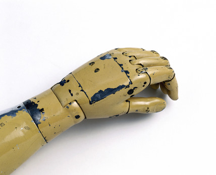 Hand from an artificial arm, 1915.