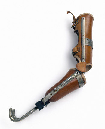 Artificial arm, 1914-1916.