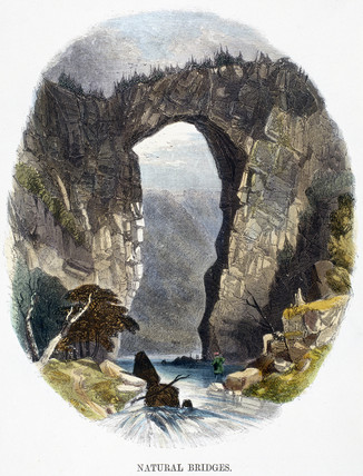 'Natural bridges', 1849.