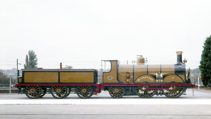 'Gladstone' steam locomotive and tender, 18