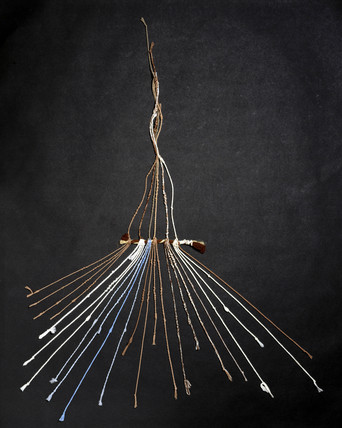 Quipu, South American, c 15th century.