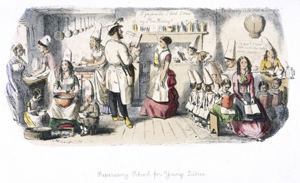 'Preparatory School for Young Ladies', 1840s.