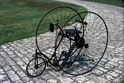 Singer tricycle, c 1888.