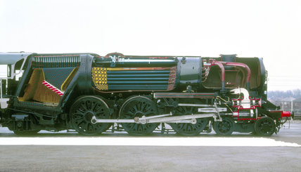 'Ellerman Lines' steam locomotive No.35029,