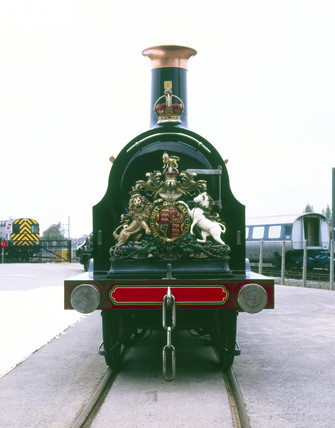'Gladstone' LB&SCR 0-4-2 steam locomotive,