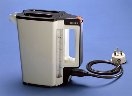 Philips electric kettle, c 1985.