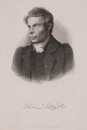 Thomas Tredgold, English railway engineer and writer, mid 19th century.
