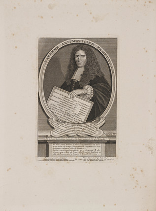 Francois Barreme, French mathematician, c 1690.