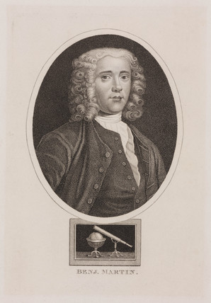 Benjamin Martin, English mathematician and instrument maker, c 1730s.
