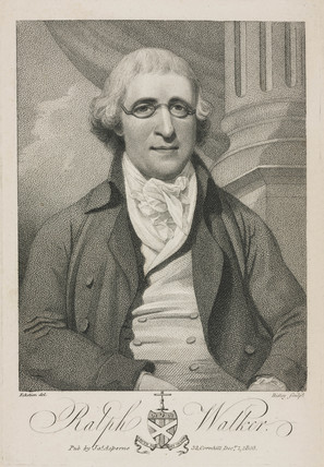 Ralph Walker, British engineer and bridge designer, late 18th century .