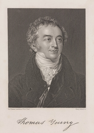 Thomas Young, English physician and physicist, c 1810.