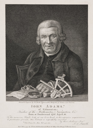 John Adams, mathematician, 1795.