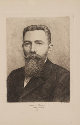 Emile Baudot, Frecnh engineer, late 19th-early 20th century.