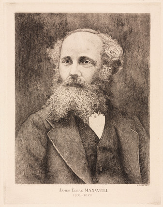 James Clerk Maxwell, Scottish physicist, c 1870s.