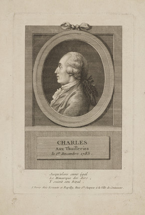 'Charles aux Thuilleries', 1 December 1783.