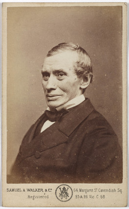 Thomas Graham, Scottish chemist, c 1870.