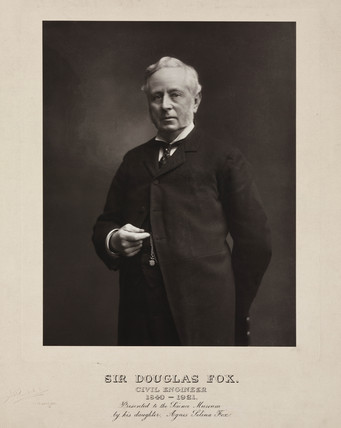 Sir Douglas Fox, British civil engineer, c 1900s.