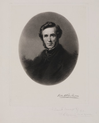 Sir Robert Rawlinson, English engineer and sanitarian, c 1860.