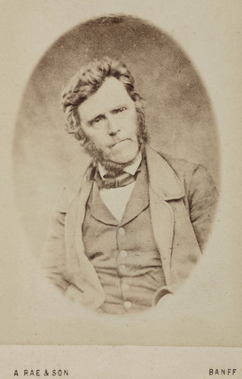 Hugh Miller, Scottish geologist, c 1850s.