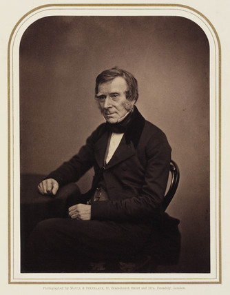Sir Benjamin Collins Brodie, surgeon, 1854-1866.