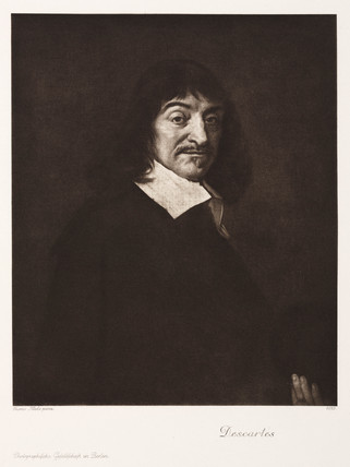 Rene Descartes, French philosopher and mathematician, c 1640s.