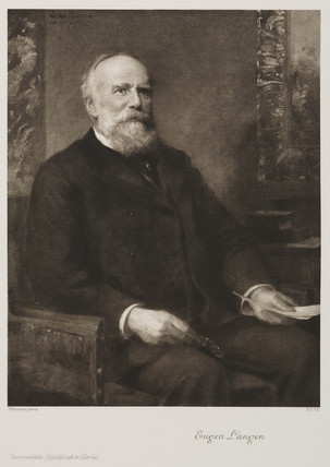 Eugen Langen, German engineer and businesman, late 19th century.
