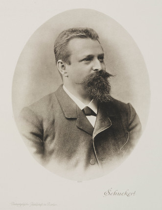 Siegmund Schuckert, German scientist, c 1880.