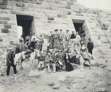 Opening of the Aswan Dam, Egypt, 1902.