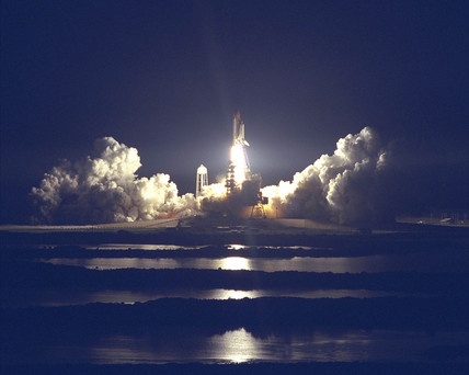 STS-86 Launch, 1997.