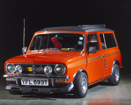 Mini Clubman, adapted for use by a disabled driver, c 1978-1979.