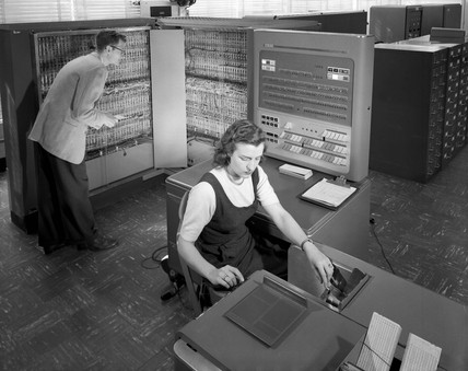 IBM Electronic Data Procesing Machine, 21 March 1957.