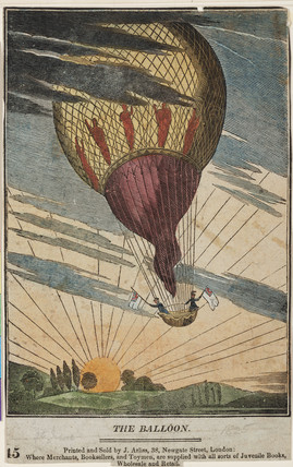 'The Balloon', 19th century.