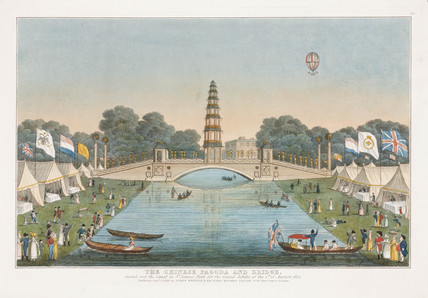 Grand Jubilee celebrations, London, 1 August 1814.